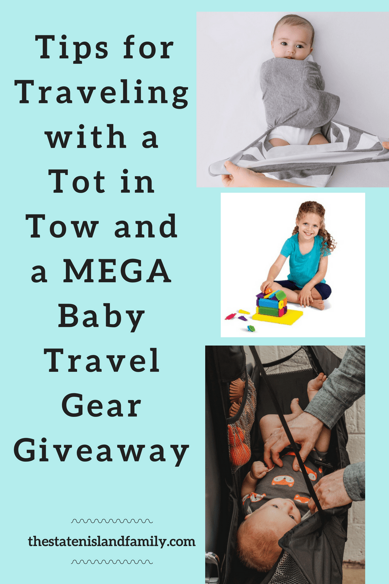 Tips for Traveling with a Tot in Tow and a MEGA Baby Travel Gear Giveaway!