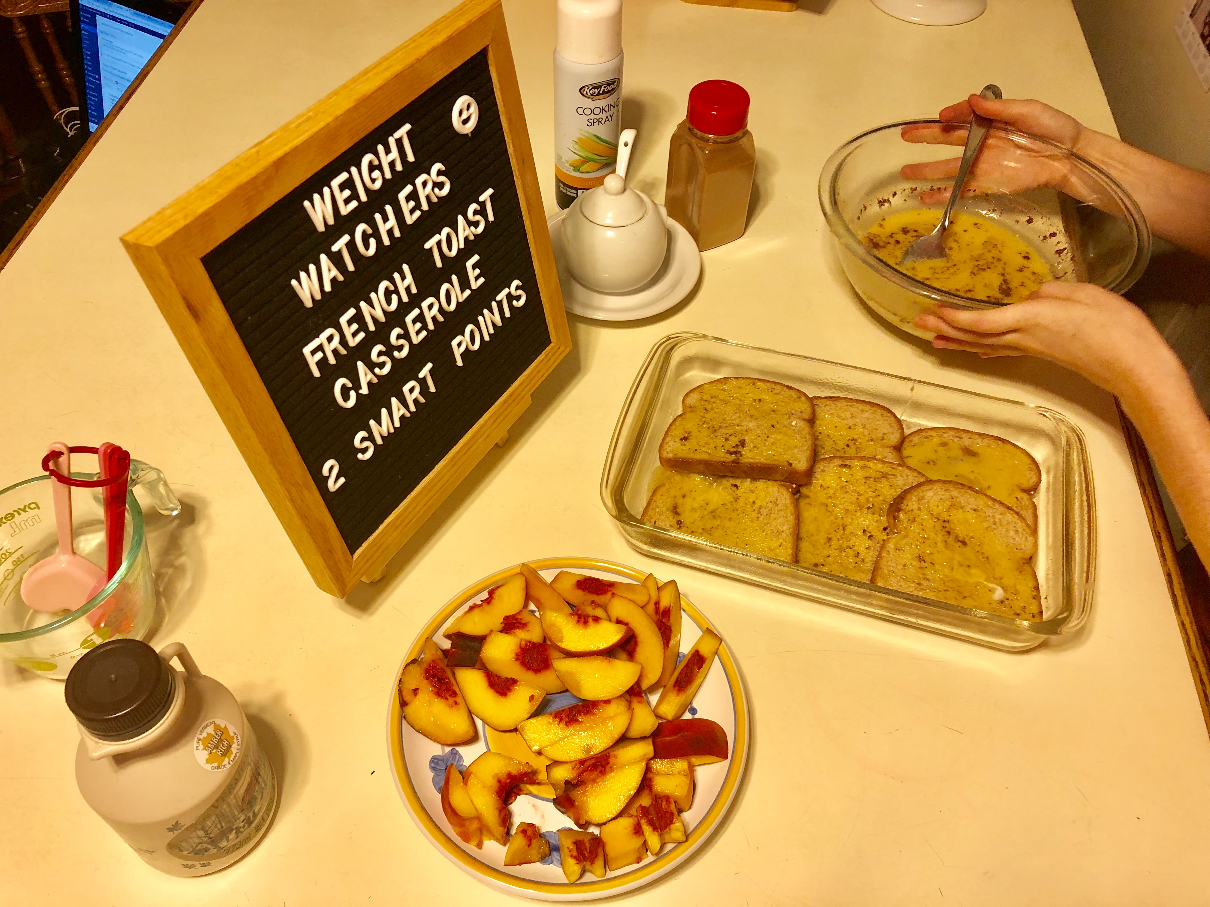 Weight Watchers French Toast Casserole Just two Smart Points Per Serving