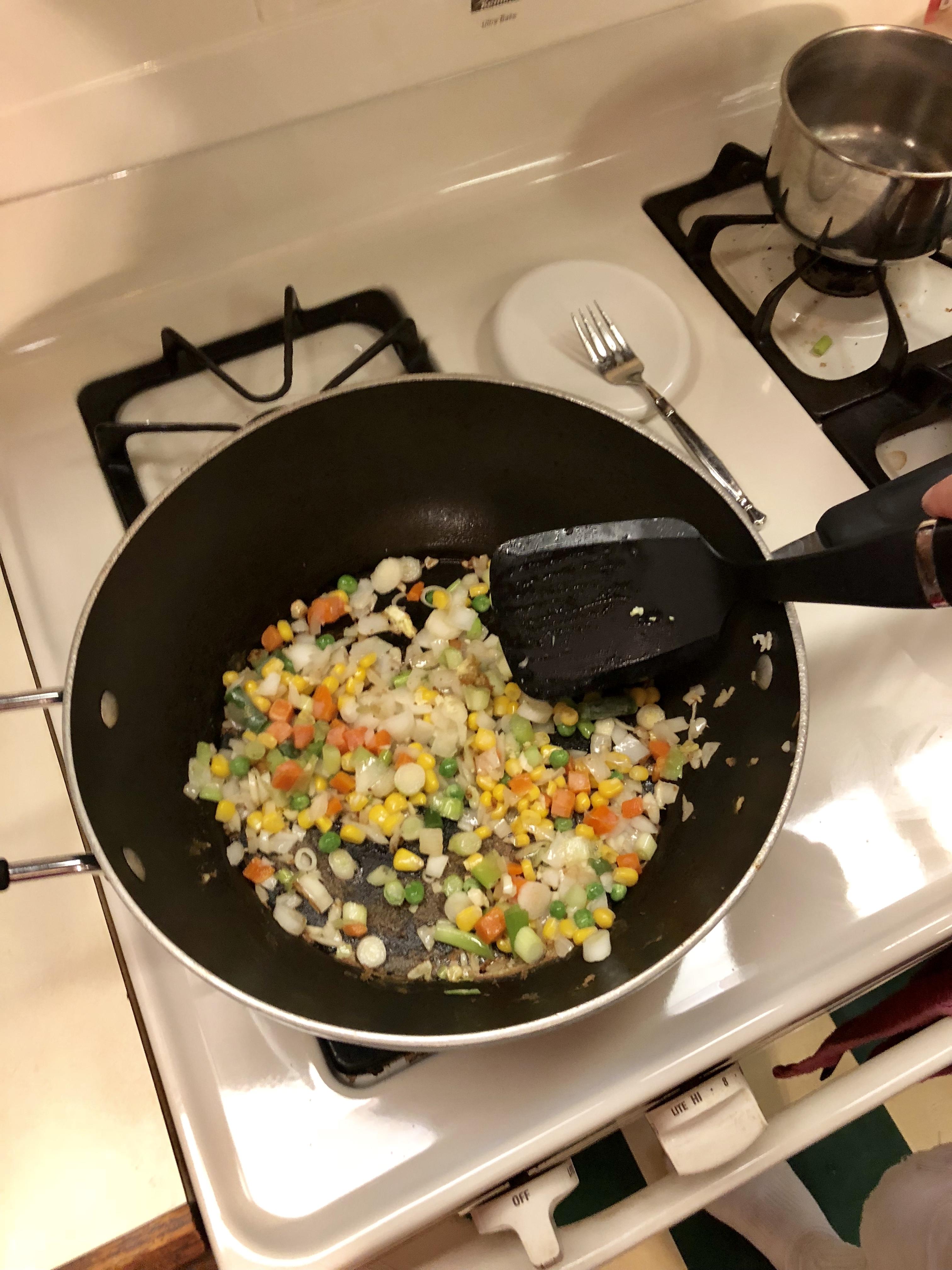 Weight Watchers Cauliflower Fried Rice 1 Smart Point per serving