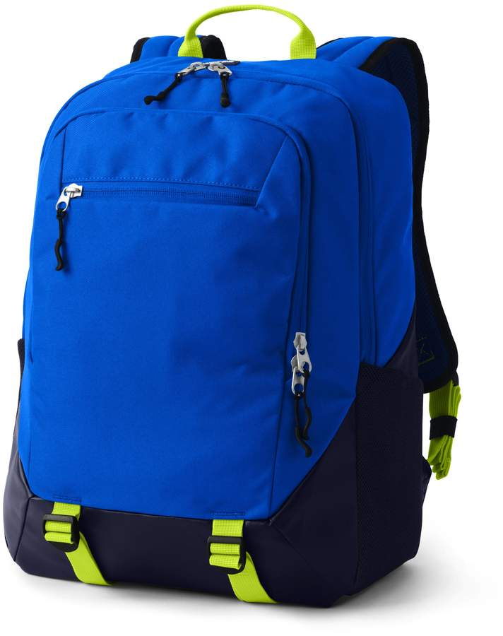 """This has everything you' ll need to pass those classes with flying colors!Made-better for older kids on the go' b'Our new StudyHaul Backpack is made-better for older kids on the go. With many of the same """"built to last a lifetime"""" features as our ClassMate® Backpack collection, but includes tech-friendly details perfect for kids who are a bit older. StudyHaul has a padded laptop sleeve and an interior organization pocket for gadgets like their beloved cell phones and portable chargers. And we still recommend making sure this is the backpack they really want — it's going to be with them a long time ... like into adulthood! P.S. Great for middle school, high school ... even college!"""