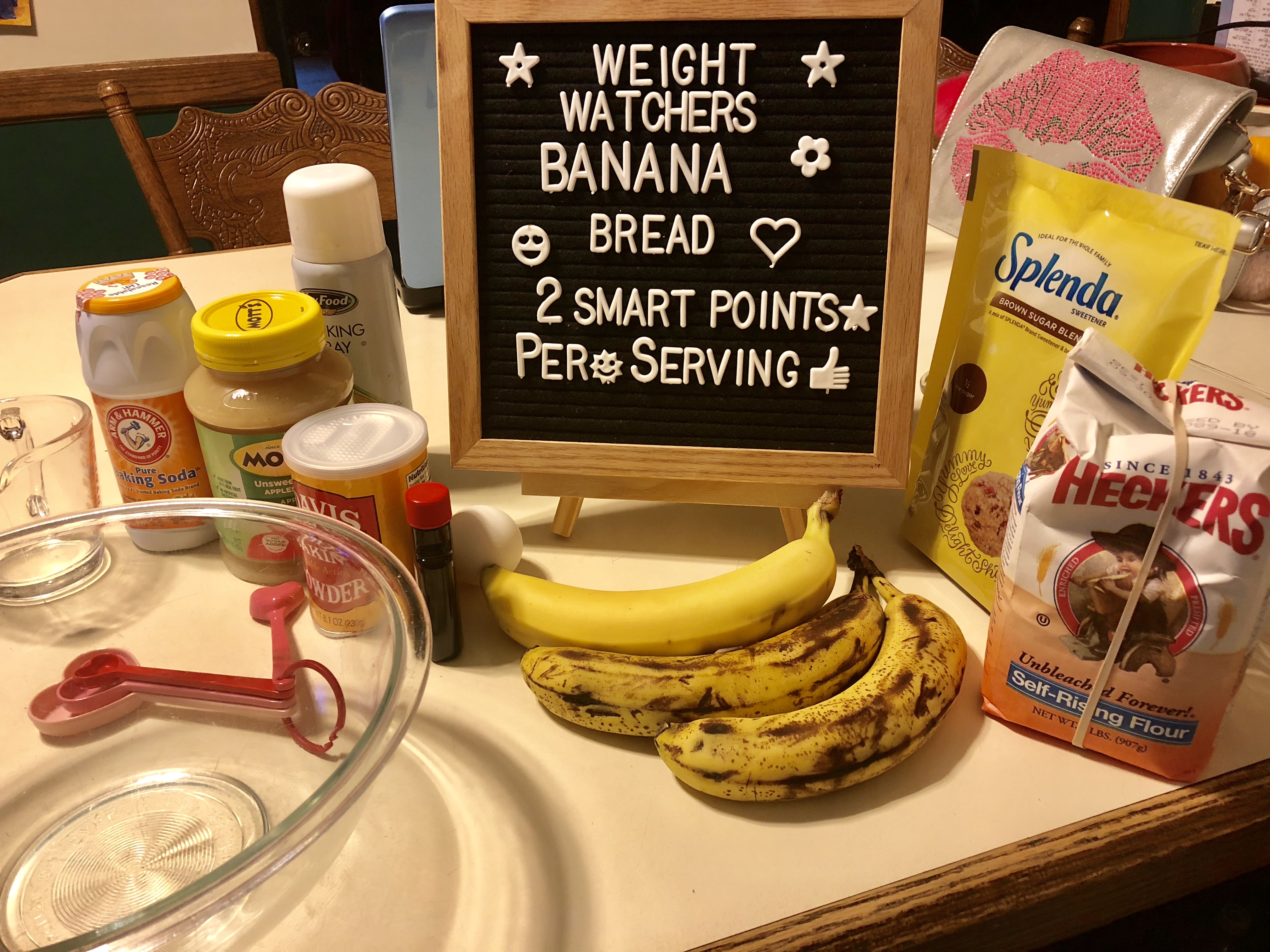 Weight Watchers Banana Bread Recipe just 2 points per serving