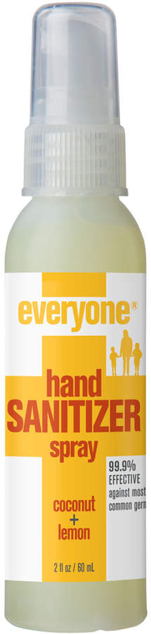 Share the love, not the germs! Everyone sanitizers are 99.9% effective against common germs and not made with any harsh chemicals