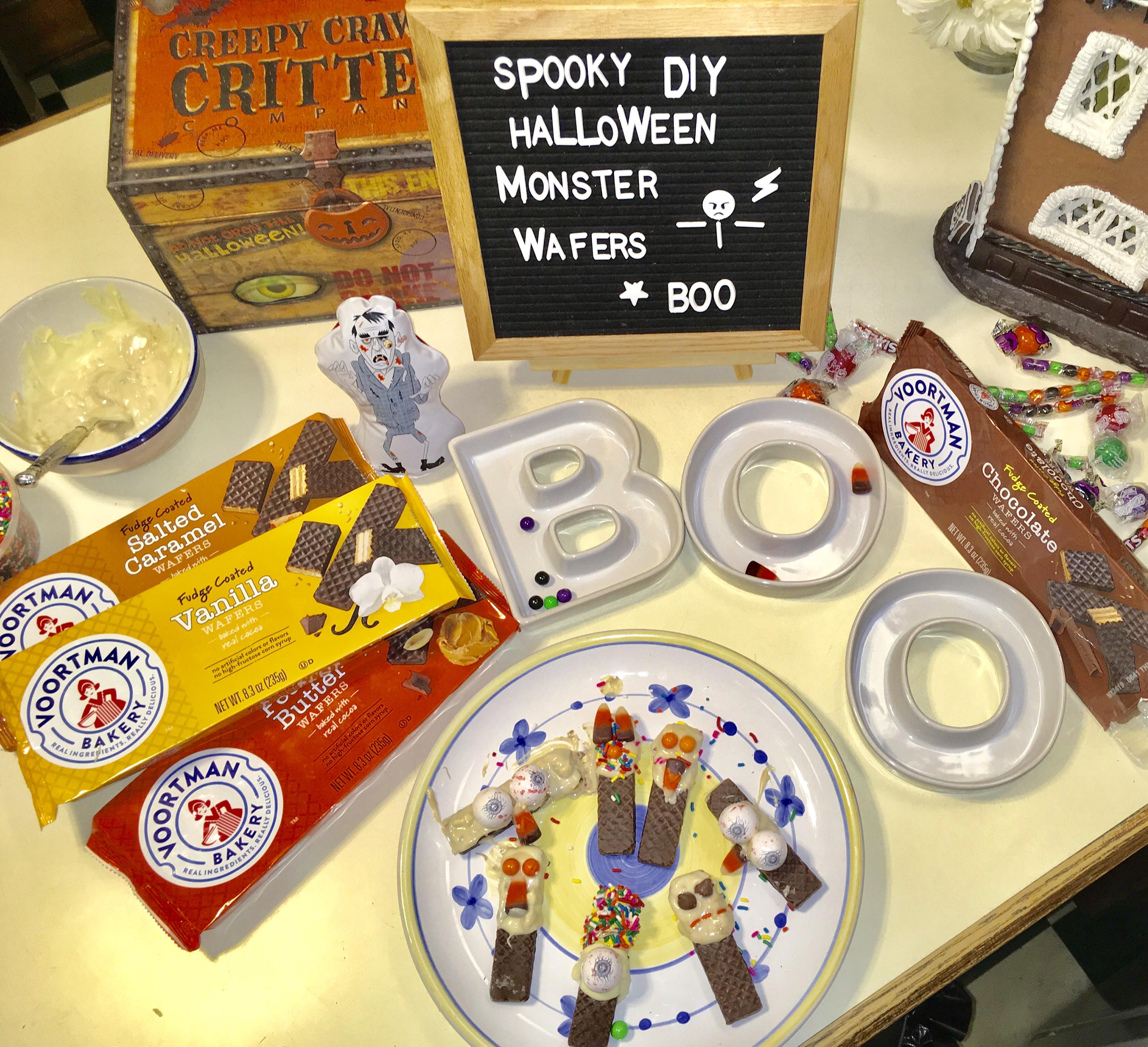 DIY Halloween Monster Wafers ANYONE can make