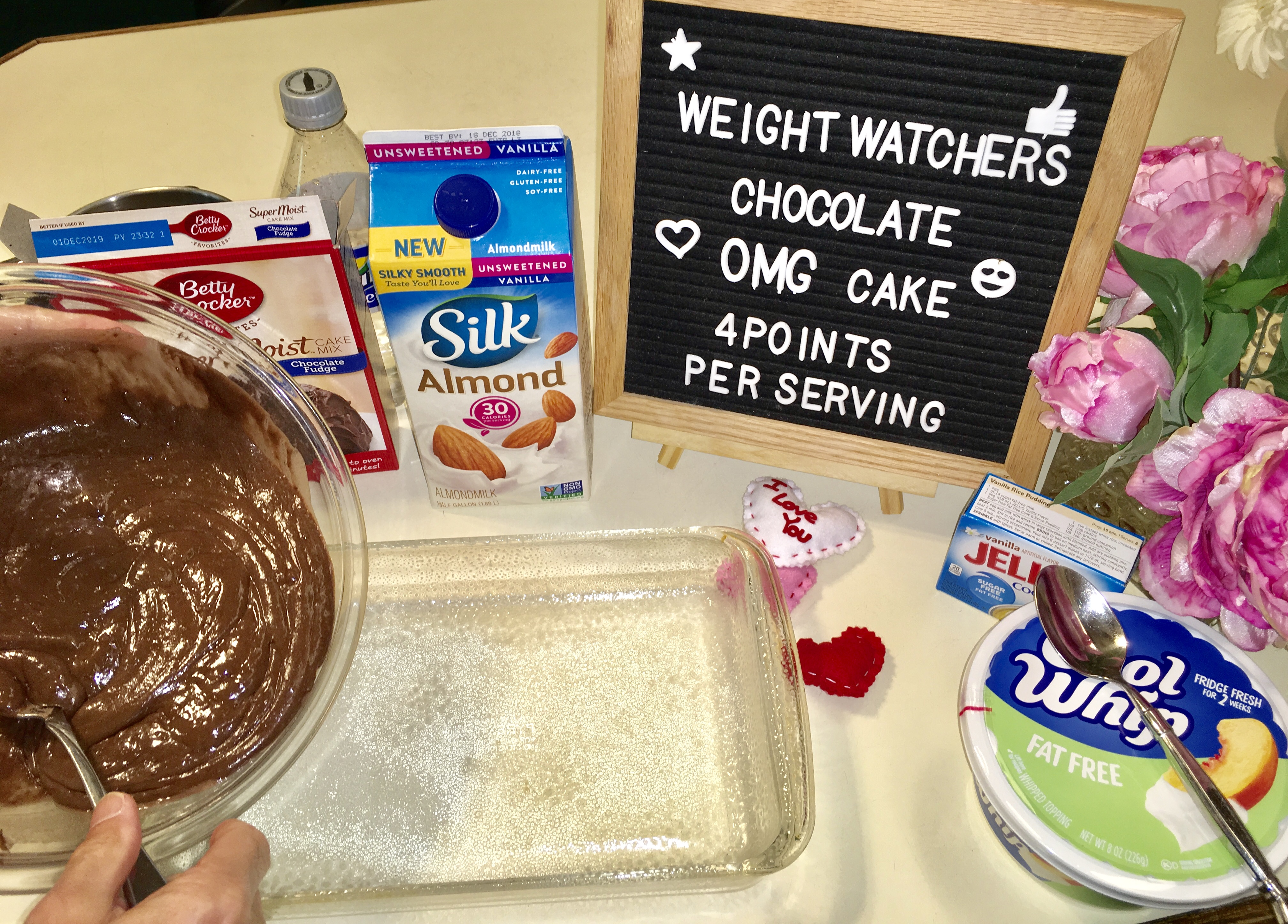 Weight Watchers Chocolate OMG Cake