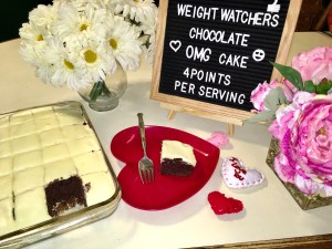 Weight Watchers Chocolate OMG Cake