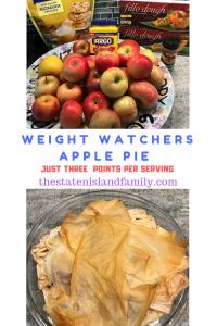 Weight Watchers Apple Pie Recipe