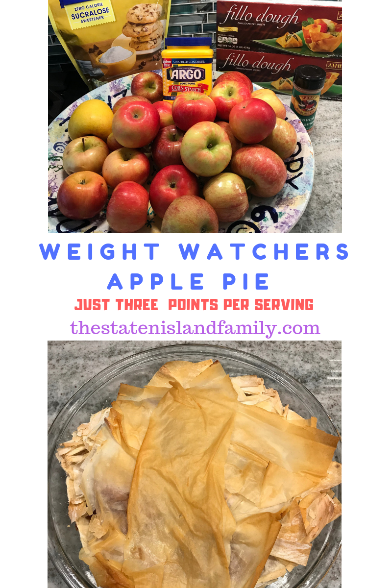 My Weight Watchers Apple Pie Recipe is the perfect low point recipe on the WW FreeStyle plan! This WW Freestyle recipe is easy to make and packs a ton of flavor for a simple classic pie recipe!