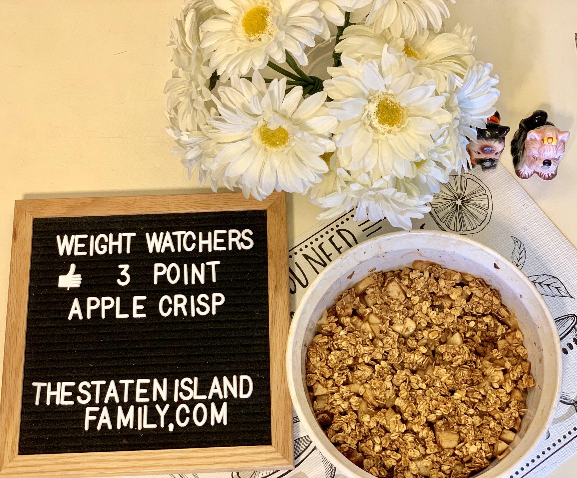 Weight Watchers Apple Crisp - Just 3 points per serving