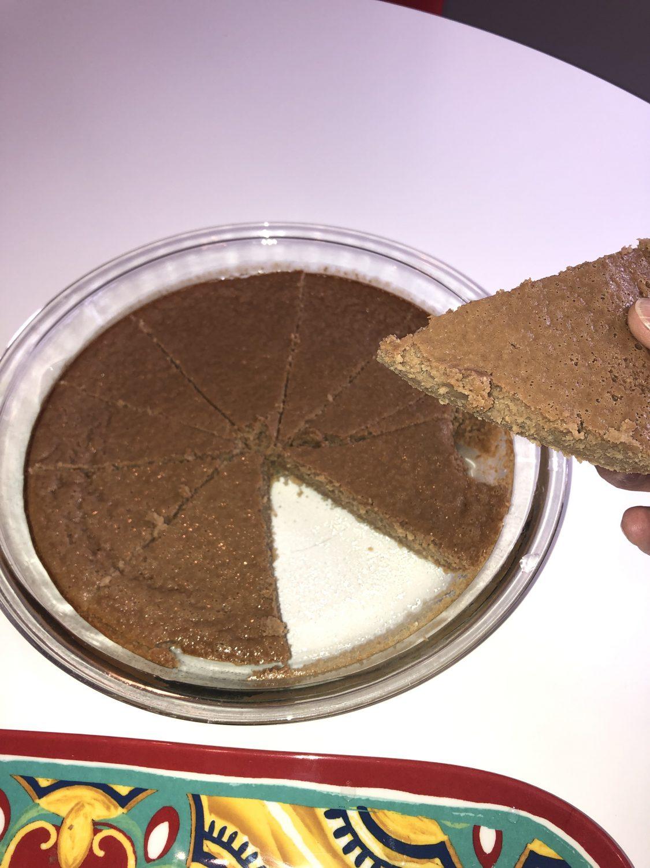 Weight Watchers Brownie Pie- Just one point per slice