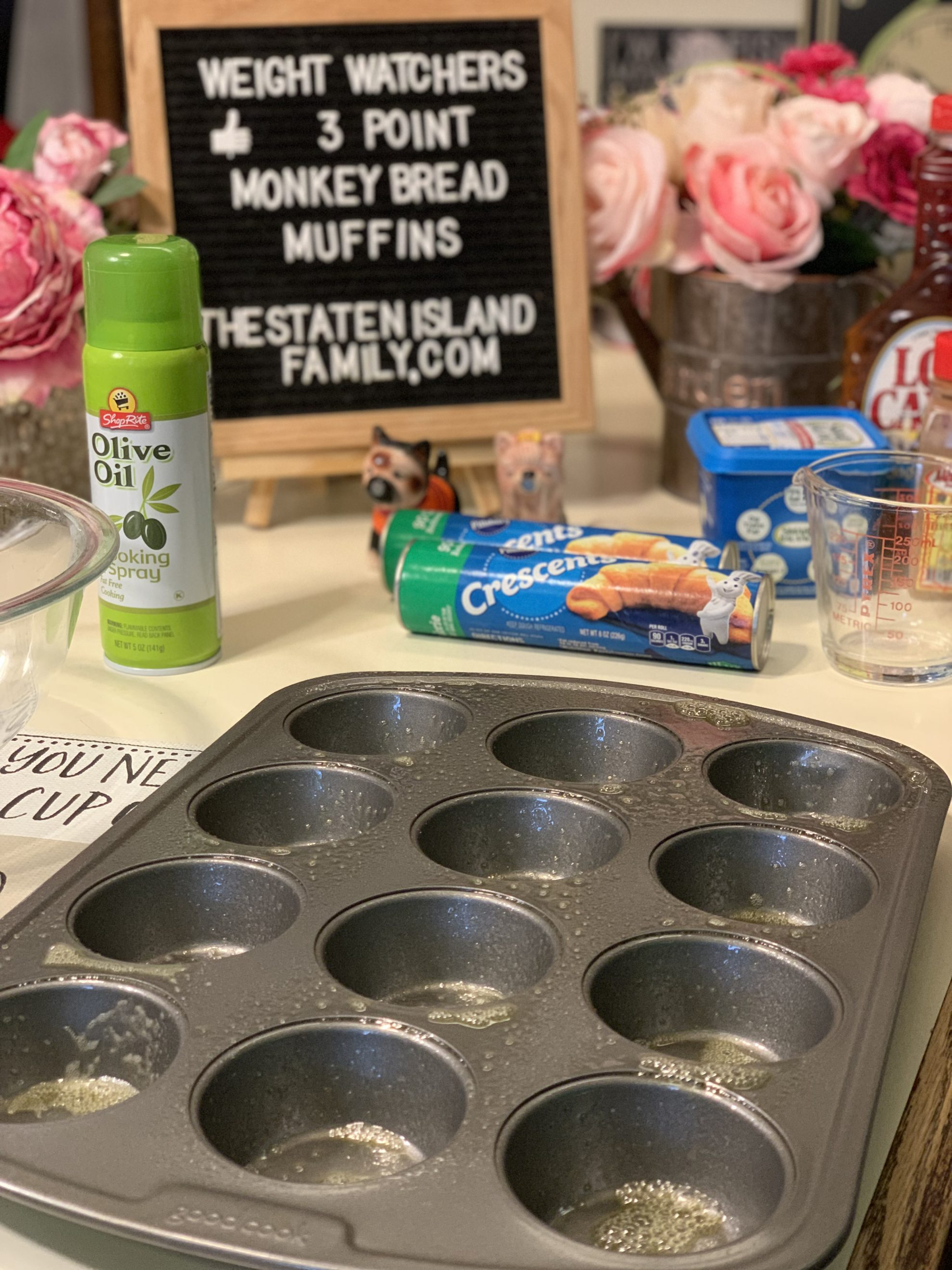Weight Watchers Monkey Bread Muffins