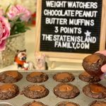 Weight Watchers Chocolate Peanut Butter Muffins - Just three points each