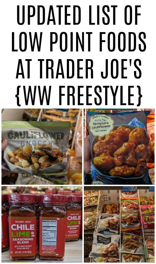 The Ultimate Weight Watchers Vegetarian Trader Joe's list