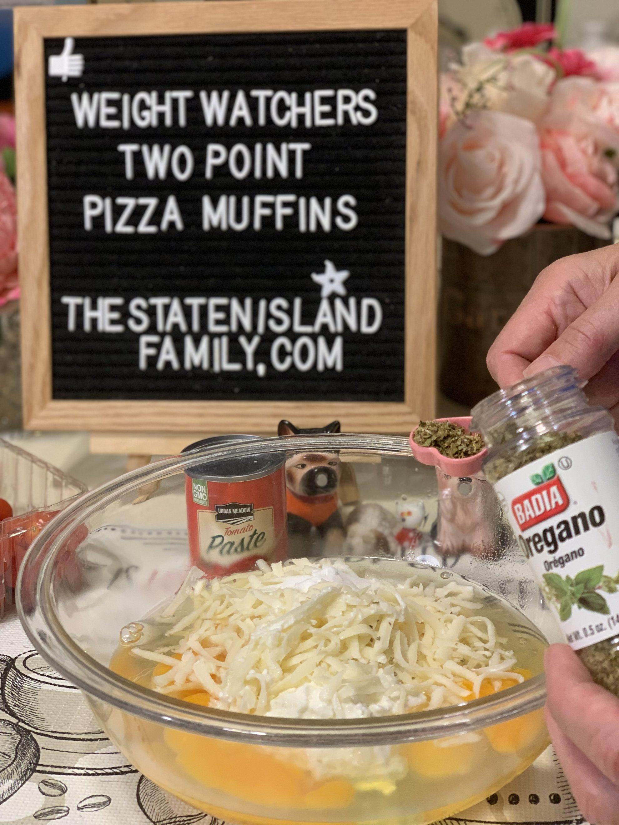 Weight Watchers Pizza Muffins