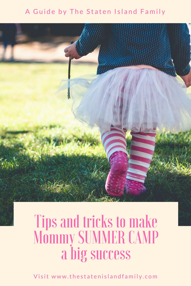 Tips to make camp mommy a success