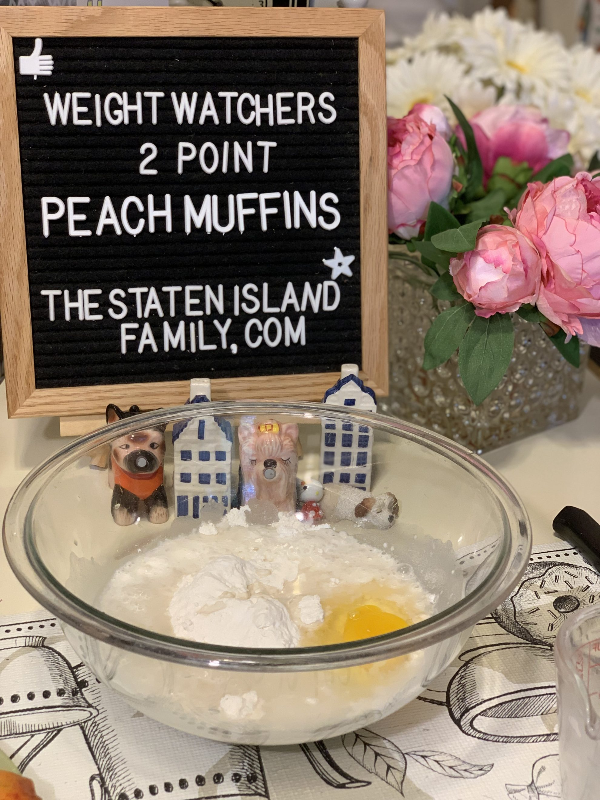 Weight Watchers Peach Muffins -just two points each