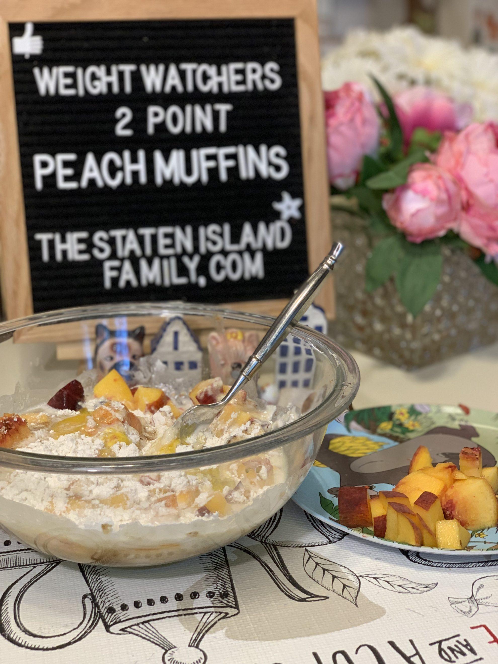 Weight Watchers Peach Muffins Recipe