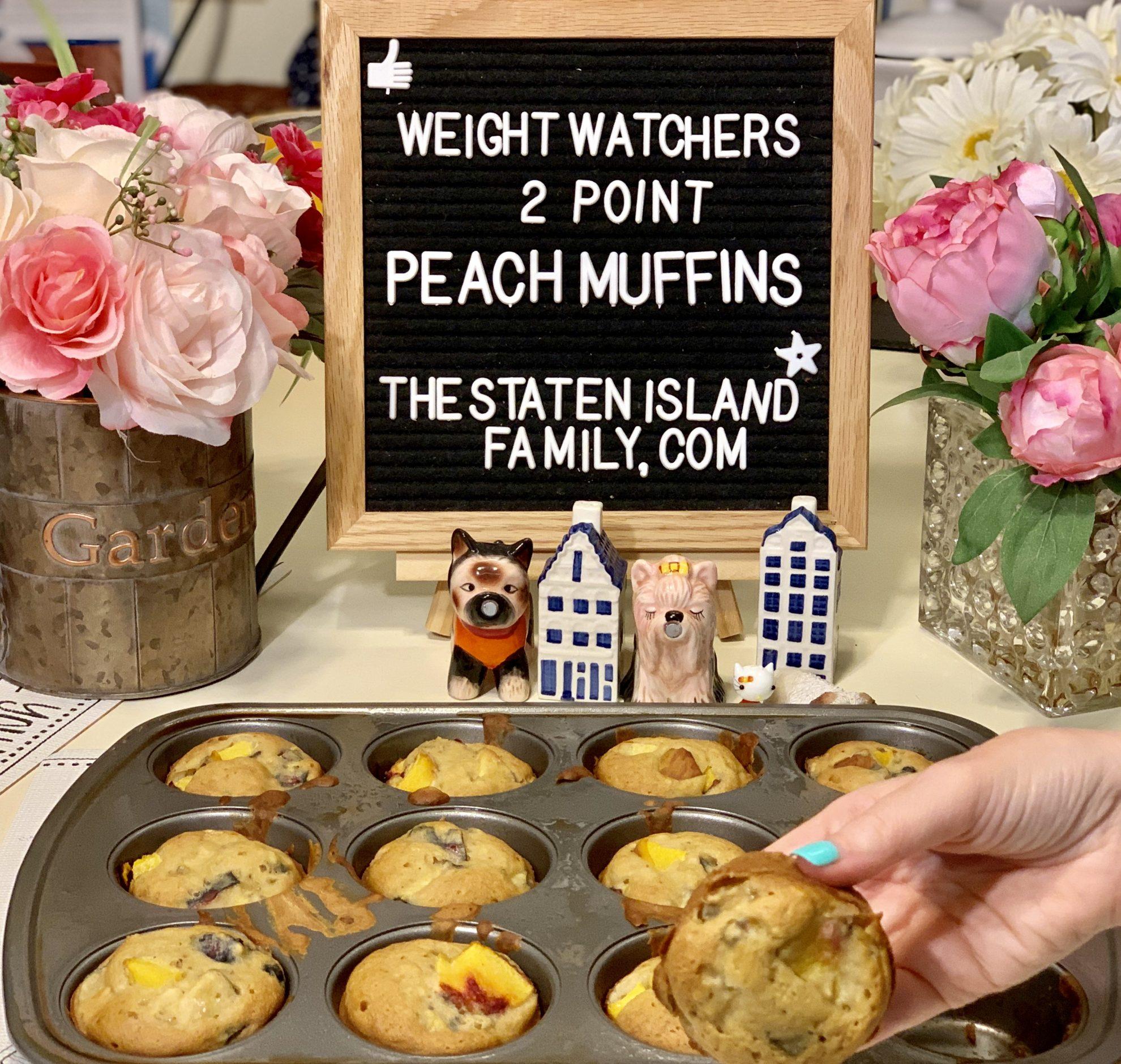 Weight Watchers Peach Muffin Recipe