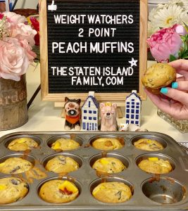 Weight Watchers Peach Muffins