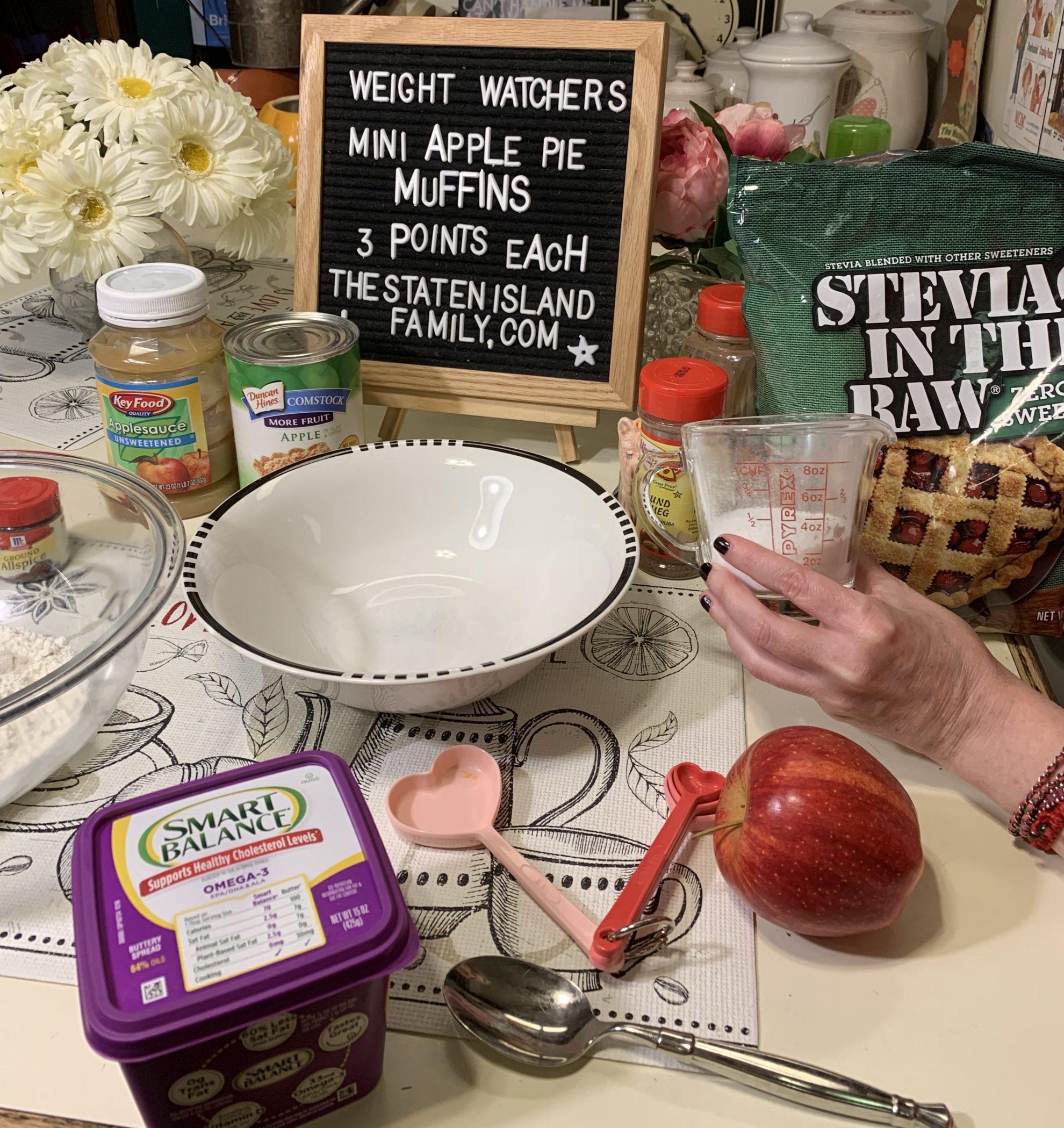 Weight watchers mini apple pie muffins