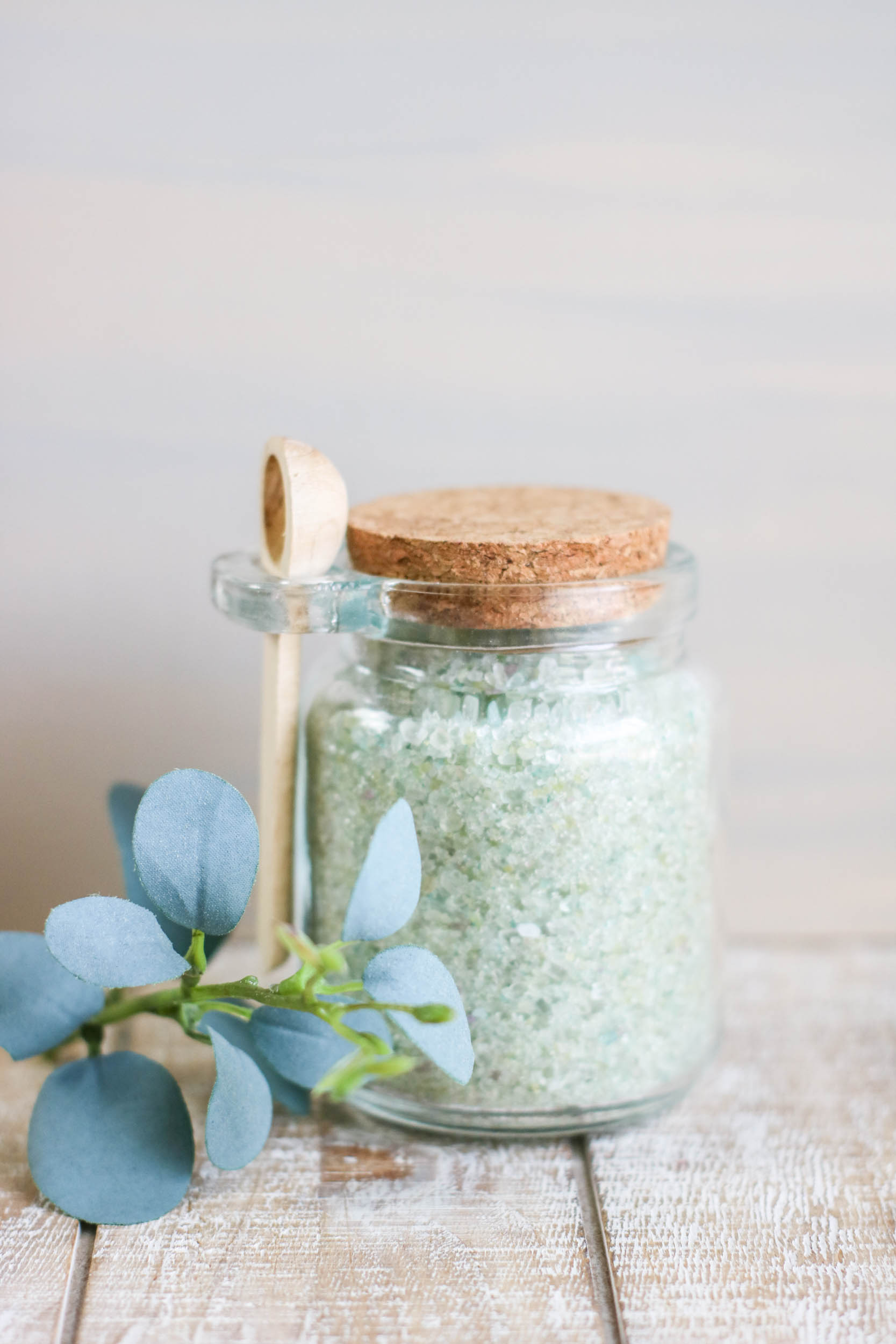 DIY Eucalyptus Bath Salts