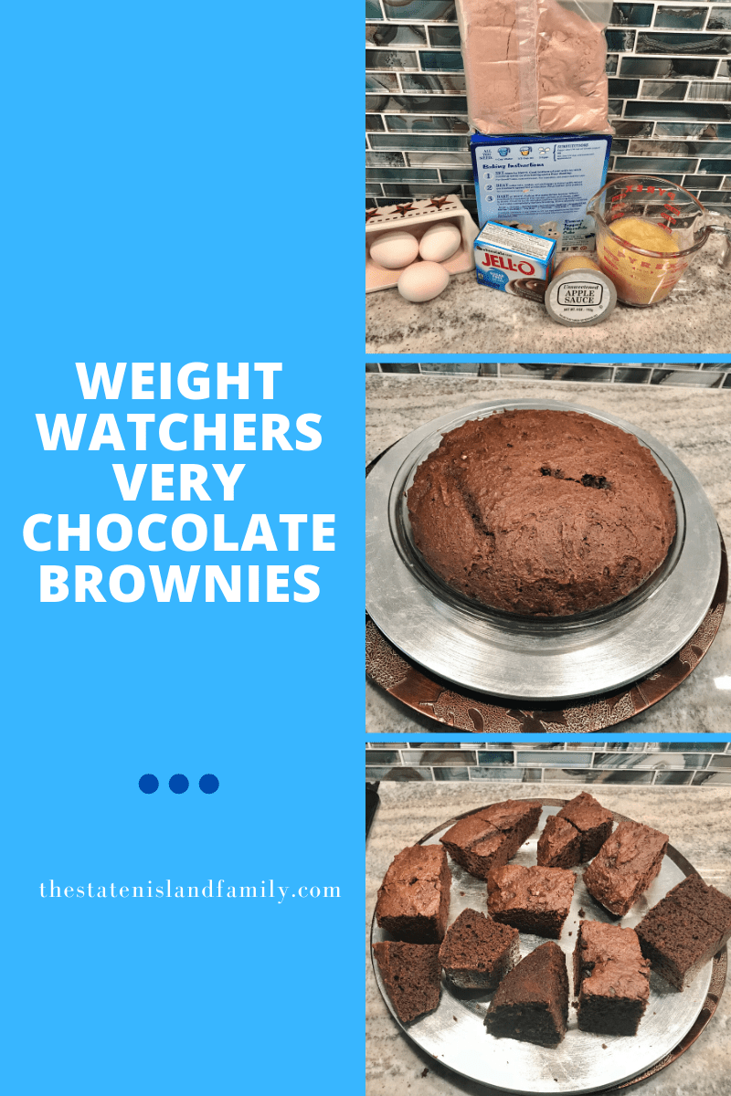 Weight Watchers Very Chocolate Brownies