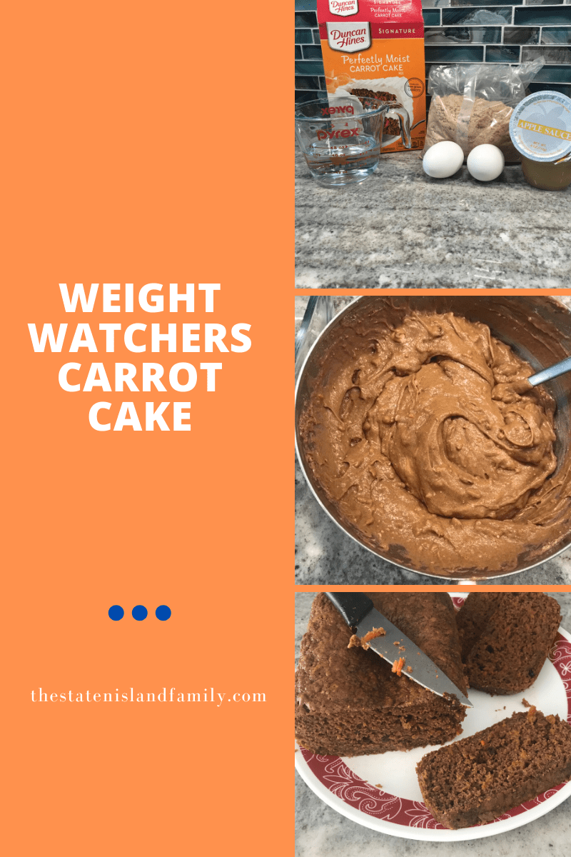 Weight Watchers Carrot Cake