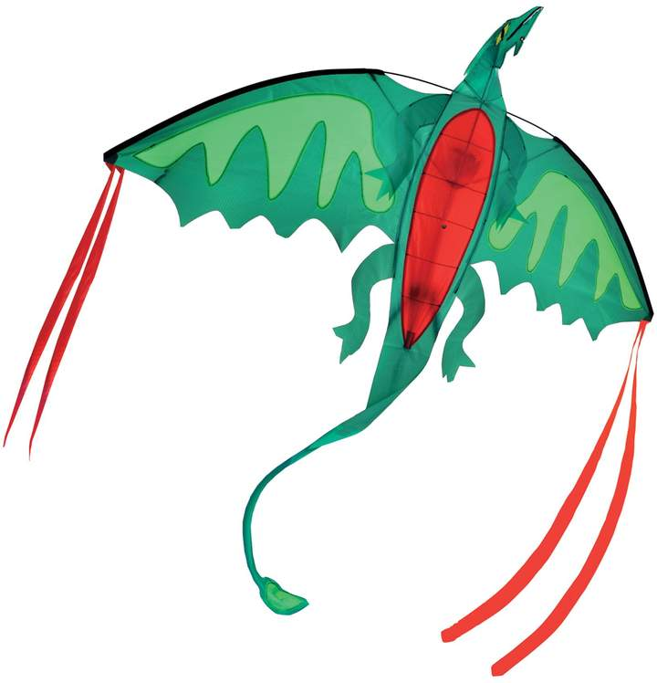 Perfect for some outdoor activities, the Melissa and Doug Dragon Kite is great for an afternoon of flying. With reinforced stitched seams and heavy duty nylon, this colorful kite withstands the elements for endless hours of fun.