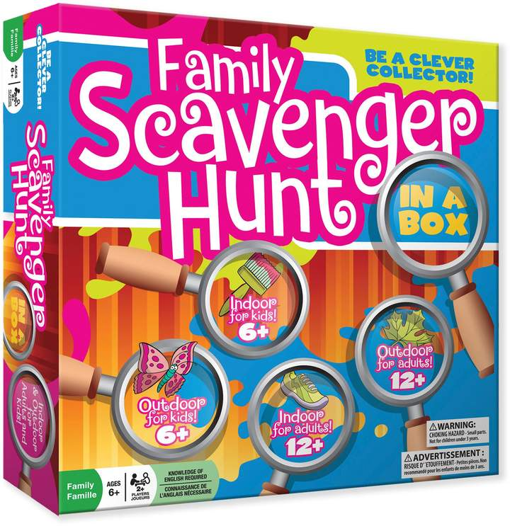 Designed for both indoor and outdoor fun, you'll use the cards to explore around your home looking for the everyday items. Appropriate for ages 6 and up For 2 or more players Two sets of cards allow everyone to play on the same level as they seek common, everyday items