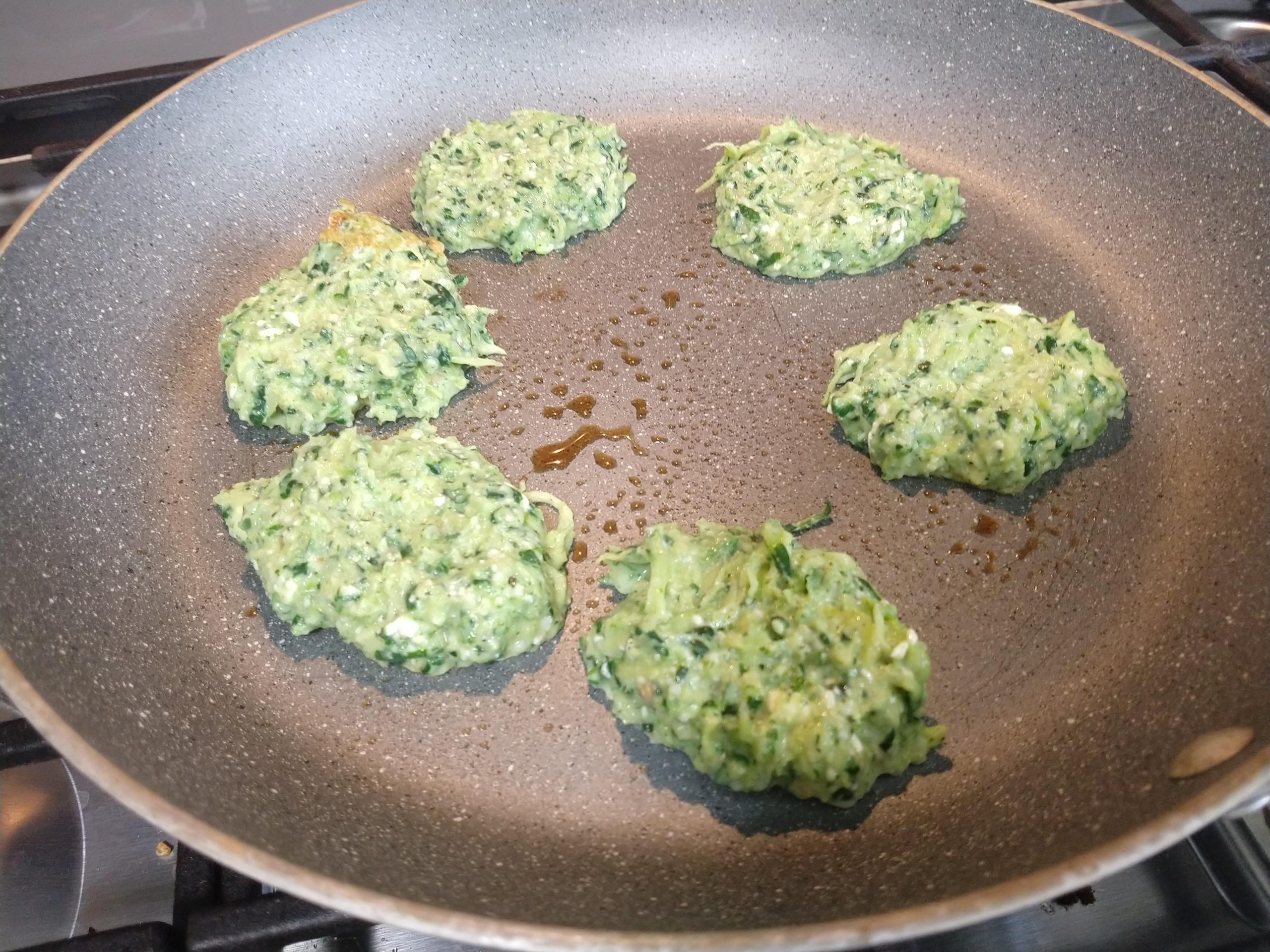 Weight Watchers Cheesy Zucchini Fritters