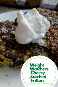 Weight Watchers Cheesy Zucchini Fritters Recipe