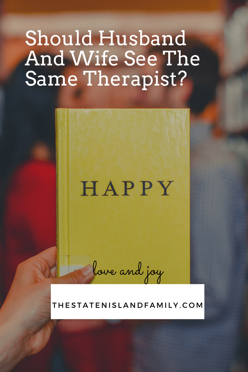Should Husband And Wife See The Same Therapist?