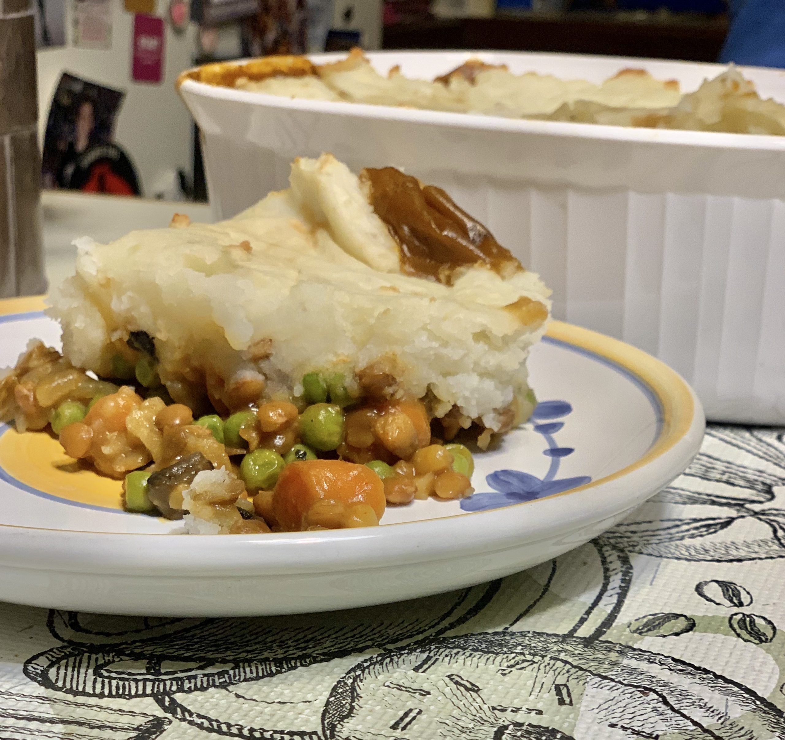 Vegan Shepherd's Pie and Tips for Transitioning to a Plant-Based Diet
