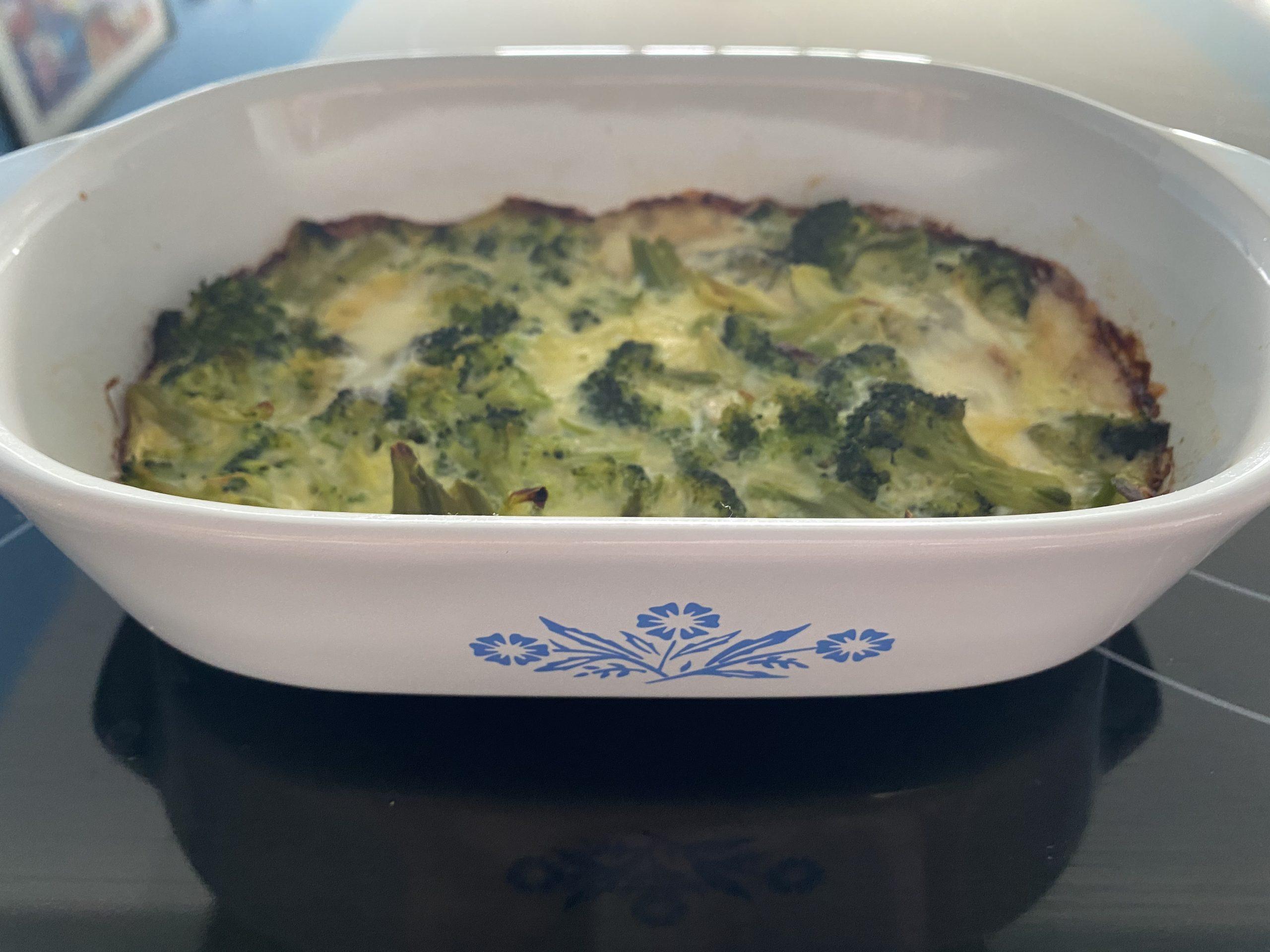 Broccoli soufflé Made Easy