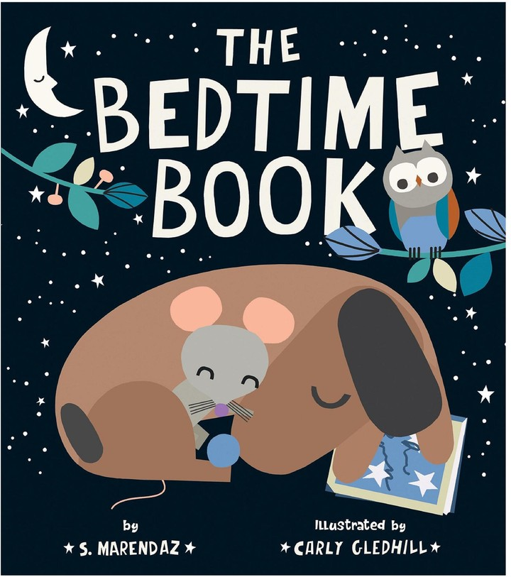 Why We Love It Snuggle up with your little one and escape into this whimsically illustrated bedtime story. Written by S. Marendaz with delightful illustrations by Carly Gledhill, it takes readers along as Frank the dog helps a distressed Mouse find her lost bedtime book. Its rhythmic pace, cute animal characters and surprise end makes this picture book one you'll read and read again.