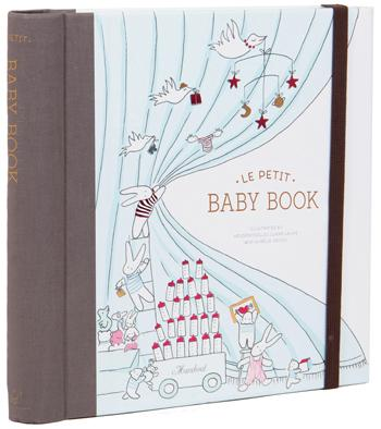 This sweet-as-can-be baby book offers dozens of creative ways to capture the milestones and special memories from pregnancy through baby's first year: an envelope for ultrasound scans, a spin-wheel to display baby's astrological sign, a gatefold family tree, space for photos, mini envelopes to stash written notes, illustrated pop-ups, a pull-out growth chart to display in baby's room, and more