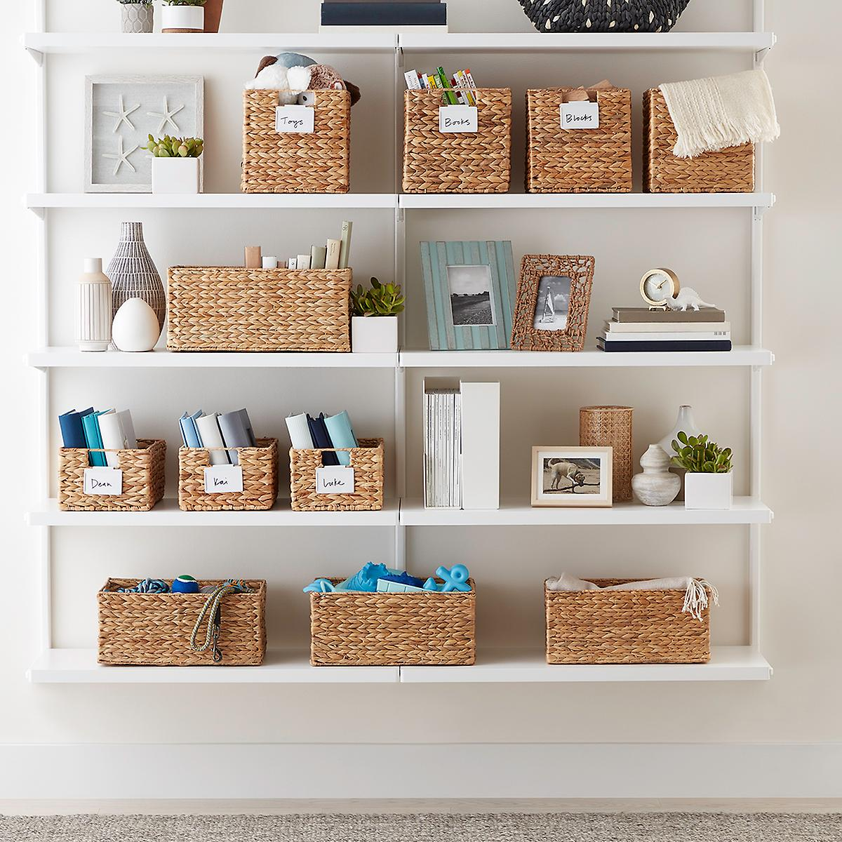 Beautifully constructed, our Water Hyacinth Bins offer an attractive option for storage of a variety of items around your home. Choose from several functional sizes of this popular woven basket.