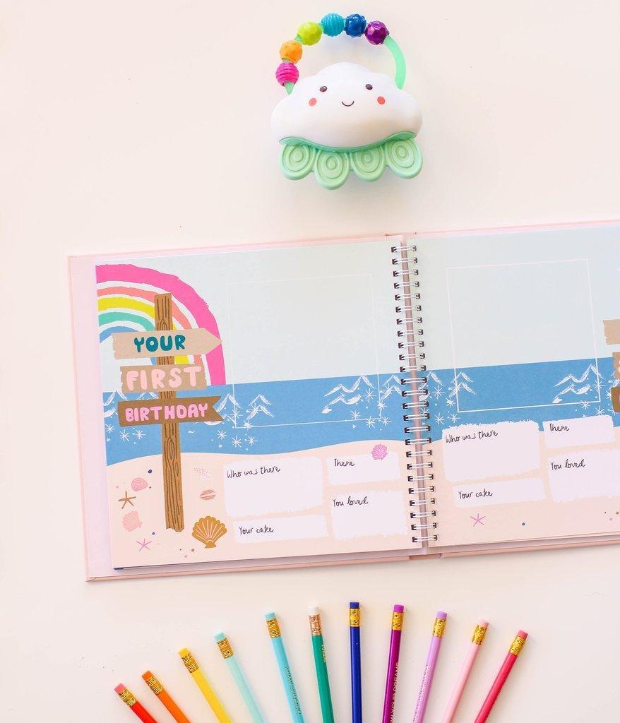 How cute is this Little Beach Babe Memory Book