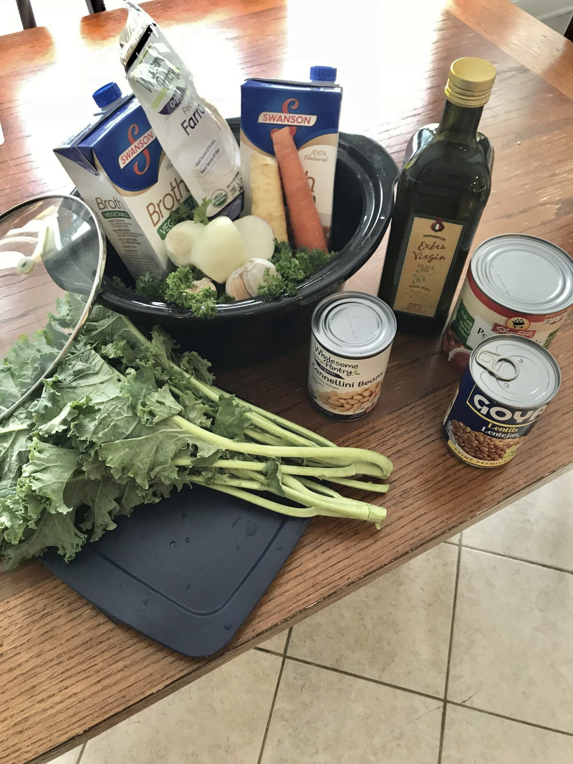 Fill your belly Veggie Soup - One point per serving on Weight Watchers Blue