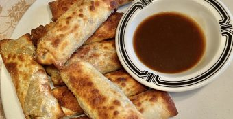 Air Fryer Egg Rolls Weight Watchers Style.