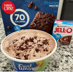 Chocolate Brownie Cool Whip - 1 point per serving on Weight Watchers Blue