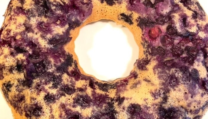 Blueberry Bundt Pancakes – Just three points per serving on Weight Watchers Blue
