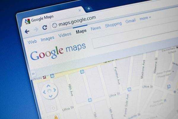 Google maps to get