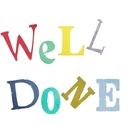 The Steel Rooms Well Done Card