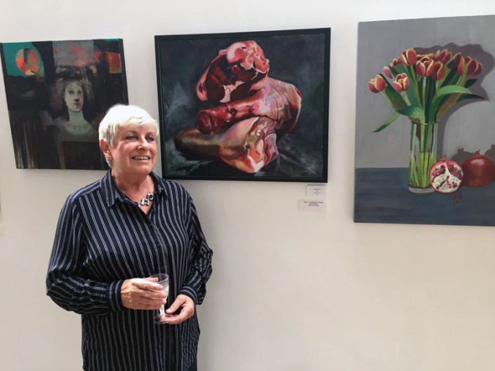 Winning Art at The Steel Rooms Open Exhibition 2017