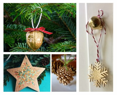 Christmas Gilded Decorations