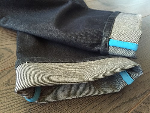 6 months later - long-term Rapha Sprinters jeans review
