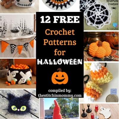 12 Free Halloween-Themed Crochet Patterns