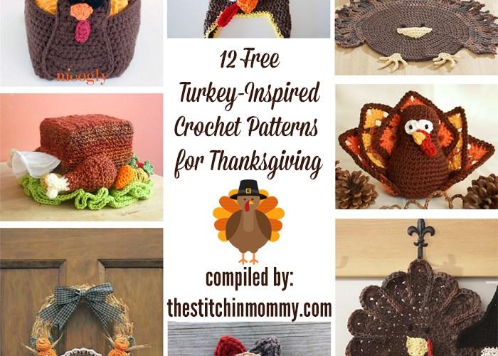 12 Free Turkey-Inspired Crochet Patterns for Thanksgiving