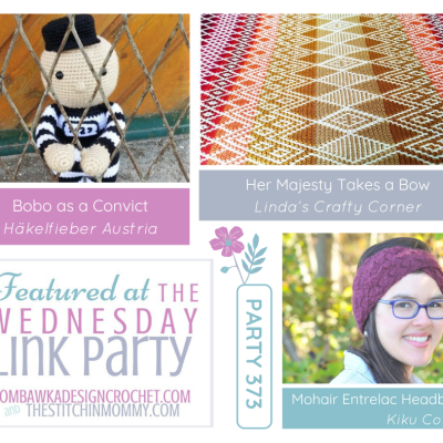 The Wednesday Link Party 373 featuring Her Majesty Takes a Bow Queen Blanket Project