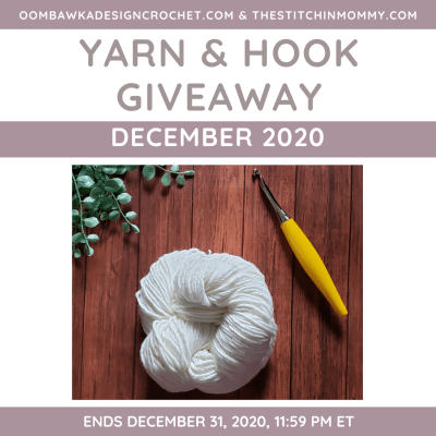 Monthly Yarn and Hook Giveaway – December 2020 featuring Furls
